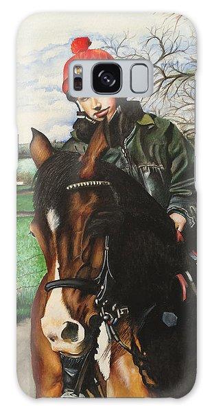 Horse Rider Galaxy Case