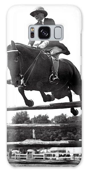 North Devon Galaxy Case - Horse Show Jump by Underwood Archives