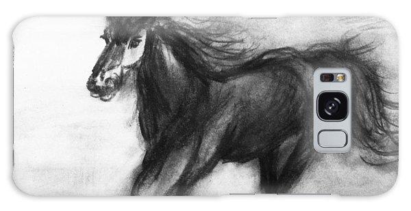 Horse Study 2 Galaxy Case