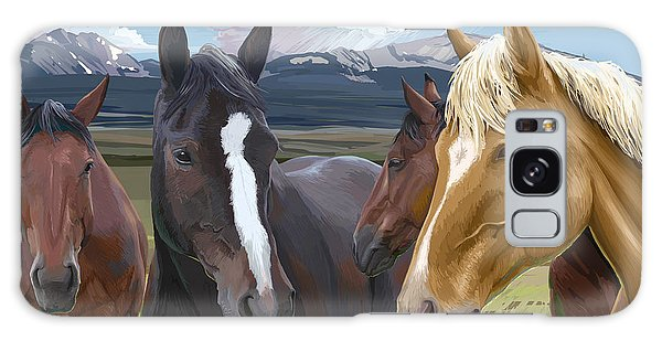 Horse Talk Galaxy Case