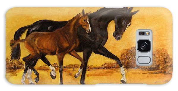 Horse - Together 2 Galaxy Case