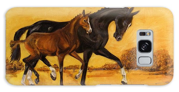 Horse - Together 2 Galaxy Case by Go Van Kampen