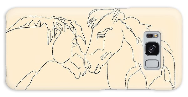 Horse - Together 3 Galaxy Case