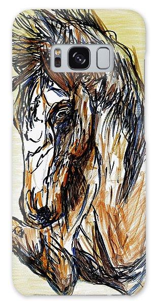 Horse Twins II Galaxy Case