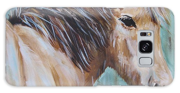 Horse Whisper Galaxy Case