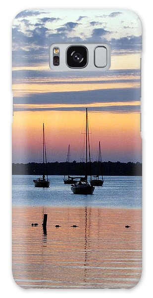 Horsehoe Island Sunset Galaxy Case