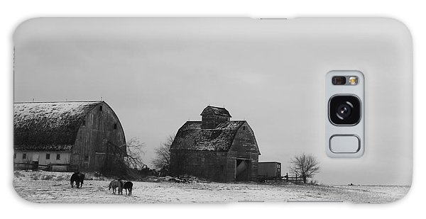 Horses And Barns  Galaxy Case