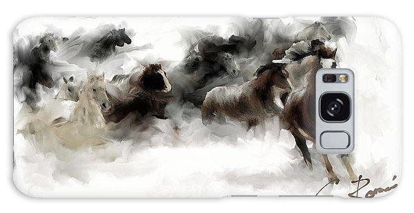 Horses Galaxy Case
