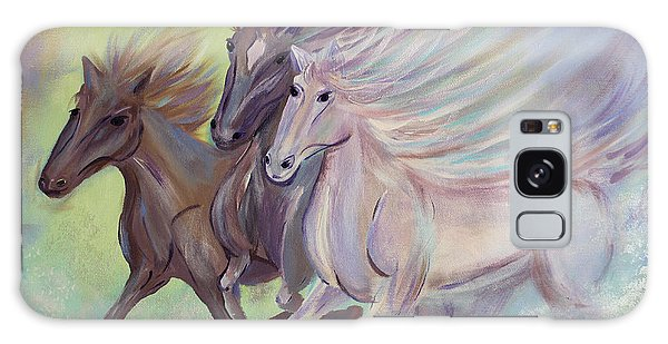 Horses Of The Sea Galaxy Case