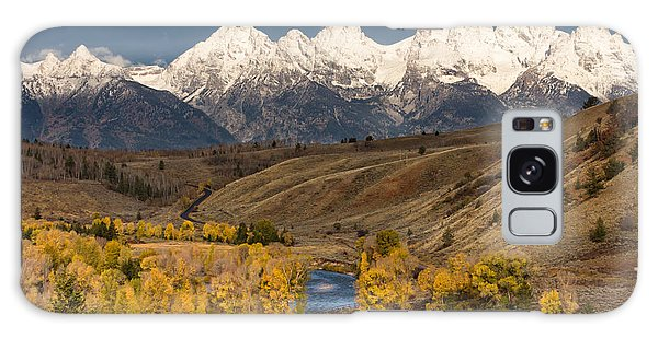 Horses On The Gros Ventre River Galaxy Case