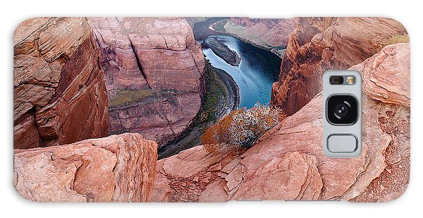 Galaxy Case featuring the photograph Horseshoe Bend At Dawn by Mae Wertz