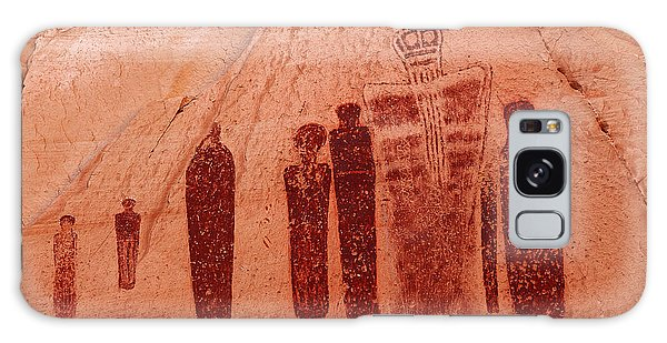 Horseshoe Canyon Pictographs Galaxy Case by Alan Vance Ley