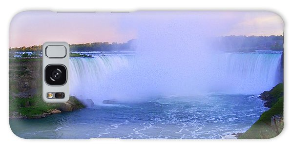 Horseshoe Falls Sunset In The Summer Galaxy Case