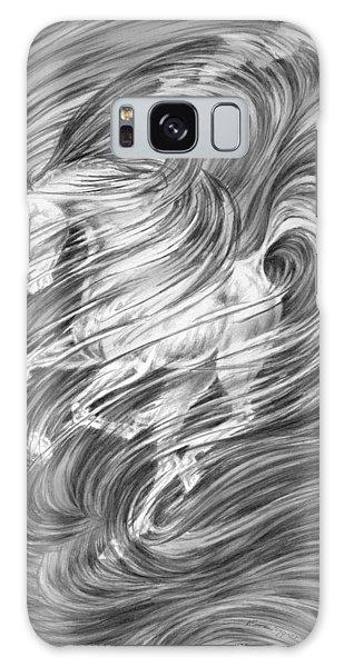 Horsessence - Fantasy Dream Horse Print Galaxy Case by Kelli Swan