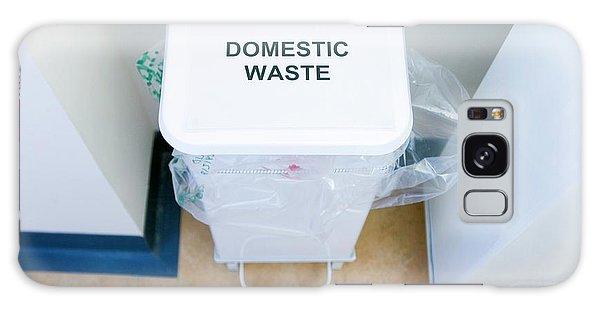 Rubbish Bin Galaxy Case - Hospital Waste Bin by Gustoimages/science Photo Library
