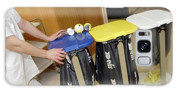 Rubbish Bin Galaxy Case - Hospital Waste Disposal by Aj Photo/science Photo Library