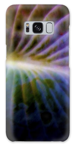 Hosta Leaf Galaxy Case