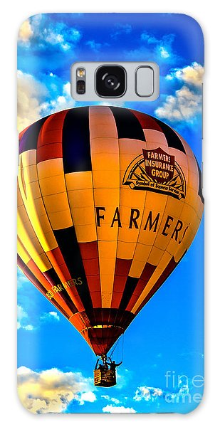 Hot Air Ballon Farmer's Insurance Galaxy Case