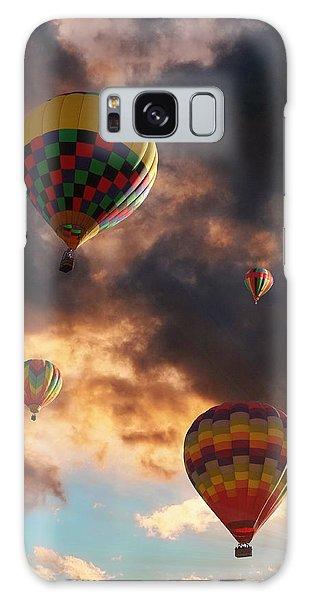 Hot Air Balloons - Chasing The Horizon Galaxy Case