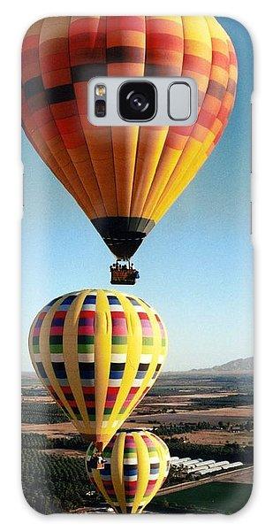 Balloon Stacking Galaxy Case by Richard Engelbrecht