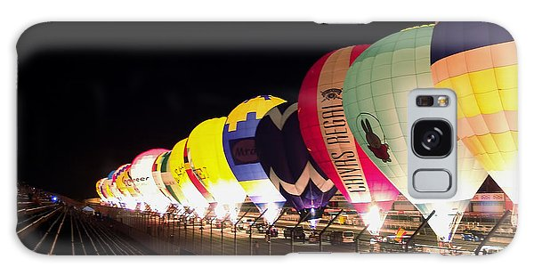 Balloon Glow Galaxy Case by John Swartz