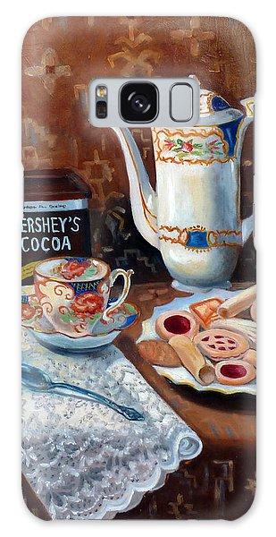 Hot Chocolate Pot Galaxy Case
