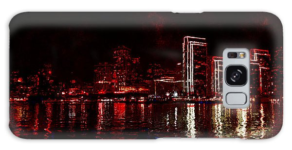 Hot City Night Galaxy Case