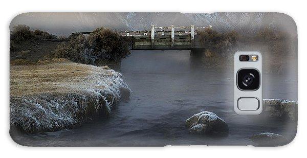 Hot Creek In Winter Galaxy Case
