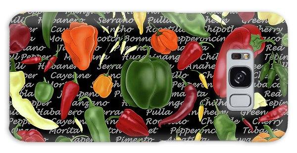 Hot For Chilis Galaxy Case
