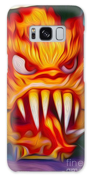 Hot Head Devil Galaxy Case