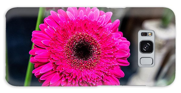 Hot Pink Gerber Daisy Galaxy Case
