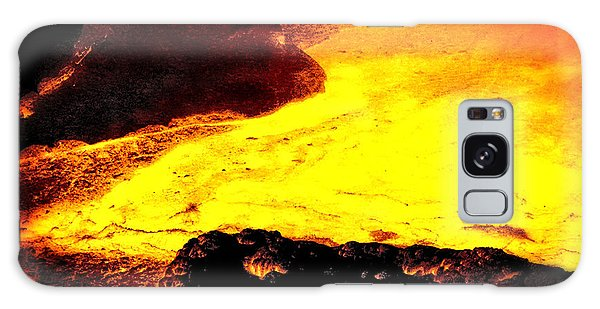 Hot Rock And Lava Galaxy Case