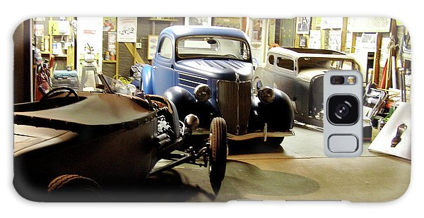 Hot Rod Garage Galaxy Case by Alan Johnson
