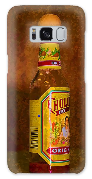 Hot Sauce Two Galaxy Case by Cathy Anderson