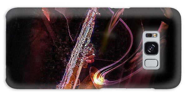 Hot Sax Galaxy Case
