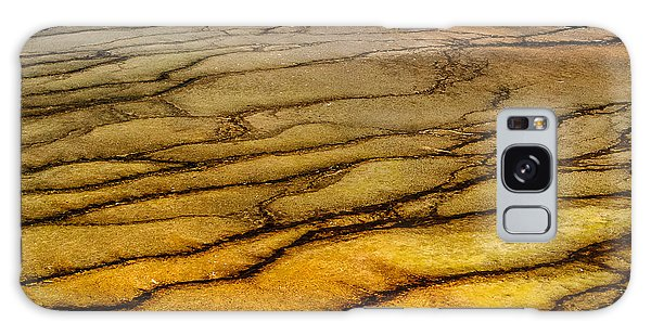 Hot Spring Abstract Lan 801 Galaxy Case