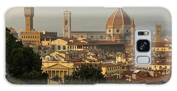 Hot Summer Afternoon In Florence Italy Galaxy Case