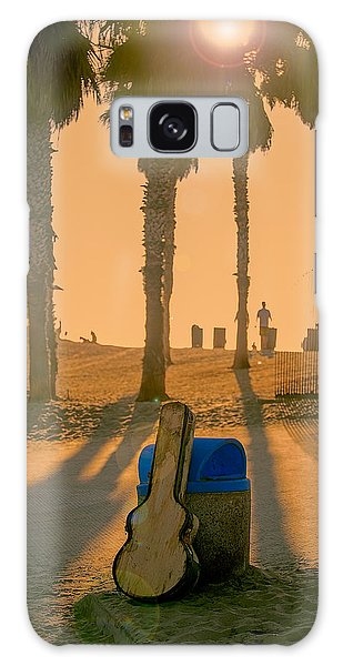 Hotel California Galaxy Case by Peter Tellone