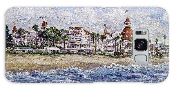 Hotel Del Beach Galaxy Case
