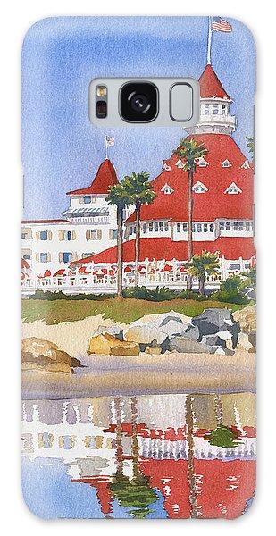 Hotel Del Coronado Reflected Galaxy Case