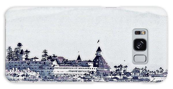Hotel Del Coronado Galaxy Case