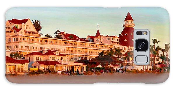 Hotel Del Sunset Galaxy Case