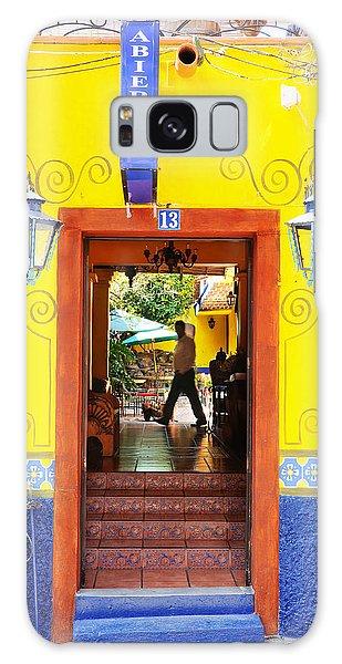 Hotel Estancia - Ajijic - Mexico Galaxy Case by David Perry Lawrence