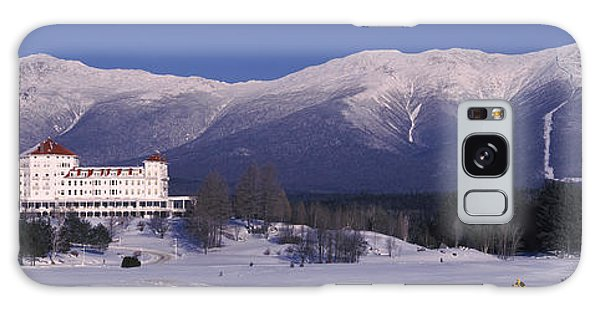 Hotel Near Snow Covered Mountains, Mt Galaxy Case