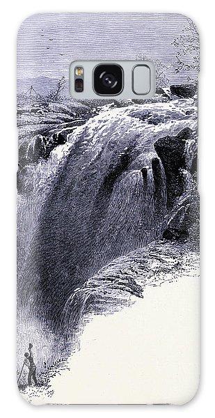 Waterfall Galaxy Case - Housatonic Waterfall United States Of America by American School