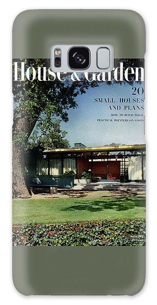 Magazine Cover Galaxy Case - House & Garden Cover Of The Kurt Appert House by Ernest Braun