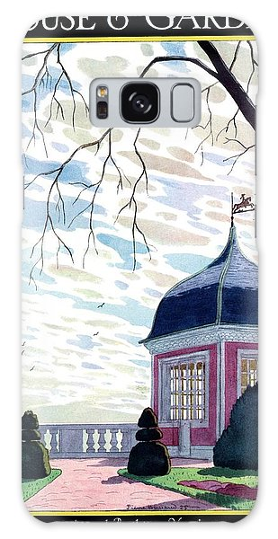 House And Garden Annual Building Number Cover Galaxy Case