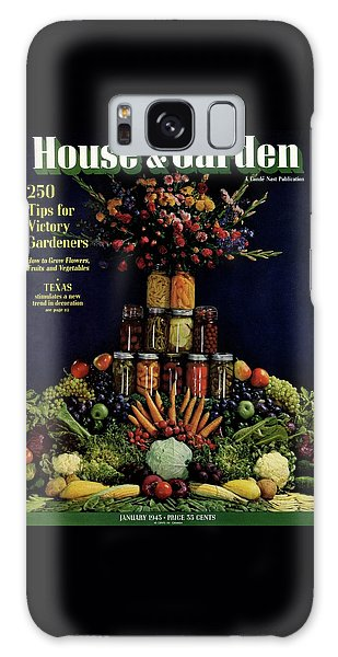 House And Garden Cover Featuring Fruit Galaxy Case