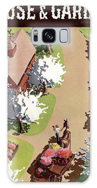 House And Garden Cover Galaxy Case