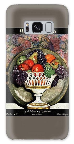 Magazine Cover Galaxy Case - House And Garden Fall Planting Number Cover by Ethel Franklin Betts Baines
